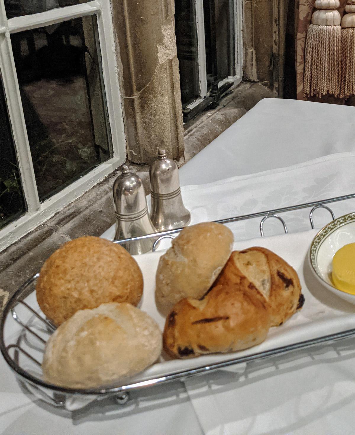 Bread at Tylney Hall