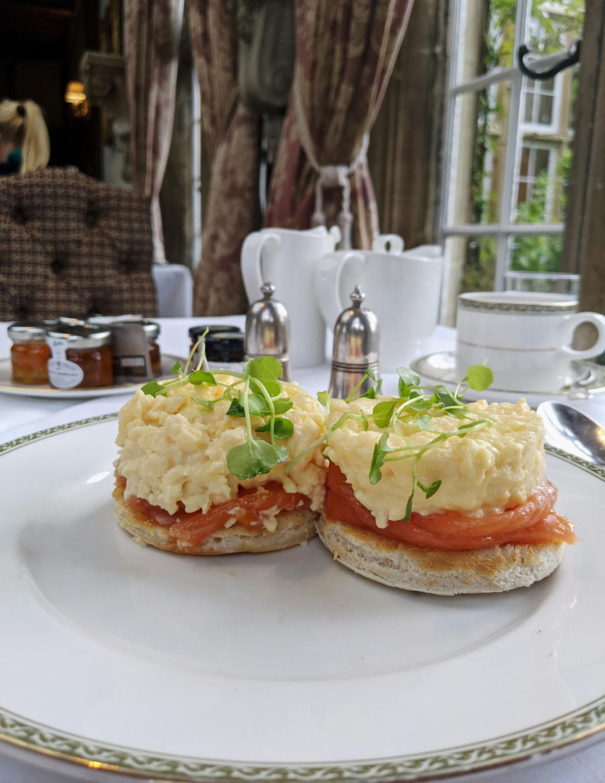 Breakfast Tylney Hall