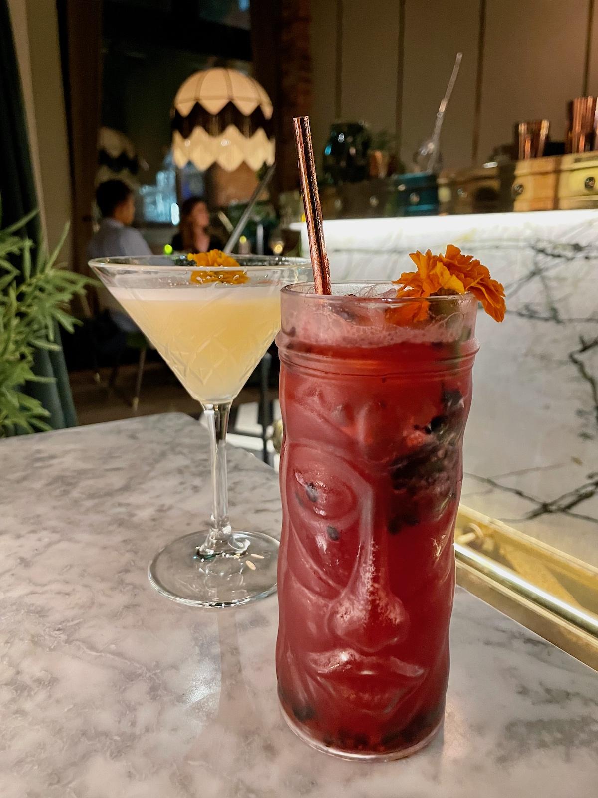 Cocktails Zuaya