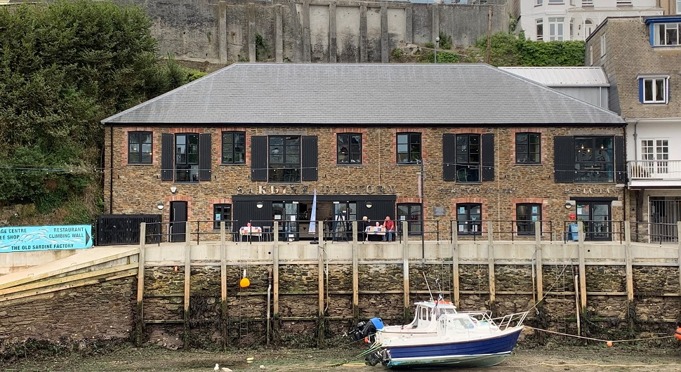 The Old Sardine Factory Looe