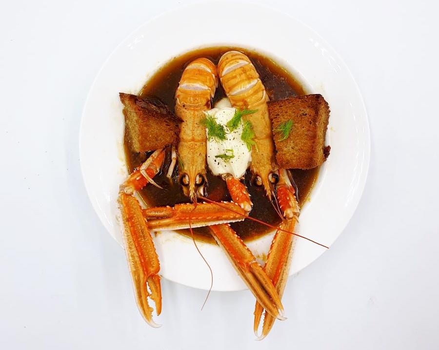 Langoustine bouillabaisse recipe