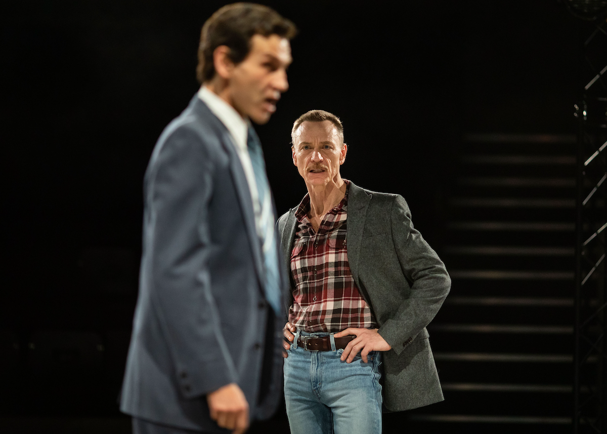 Richard Cant and Ben Daniels in The Normal Heart (c) Helen Maybanks