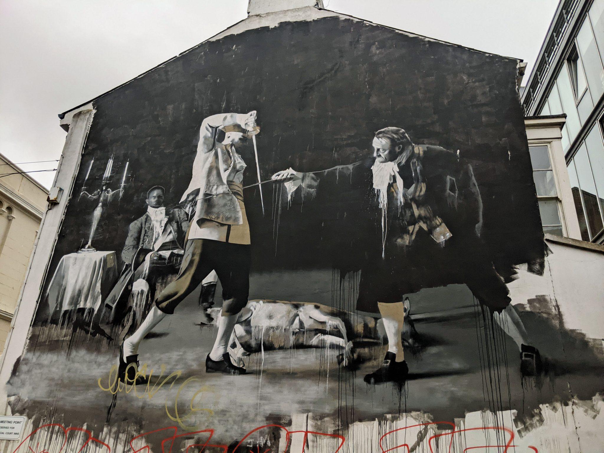 The duel of Belfast