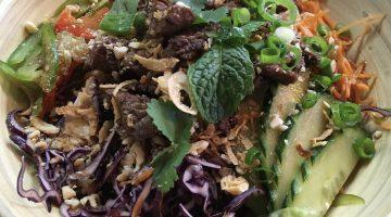 Thai salad at Pitaya