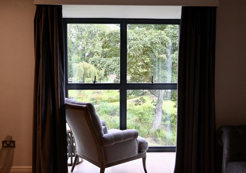 The Swan Streatley window view