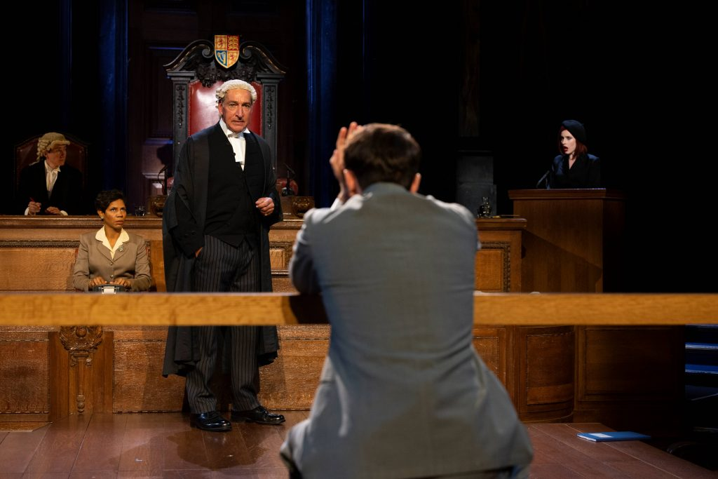 The cast of Witness for the Prosecution