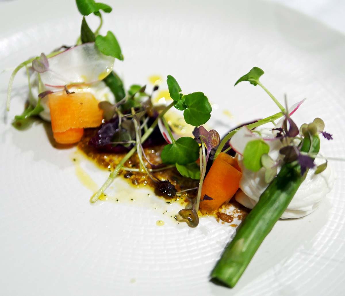 Whipped Goats Cheese - Tylney Hall