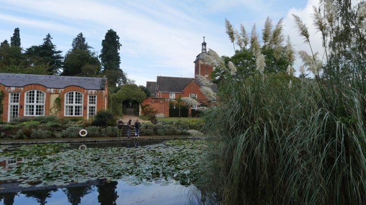 Tylney Hall across Water Gardens