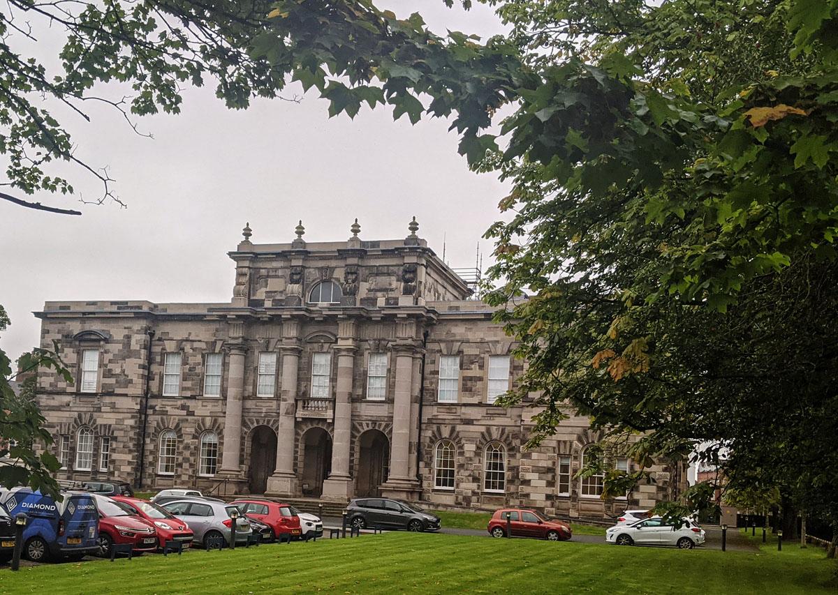 View to Queens University Belfast