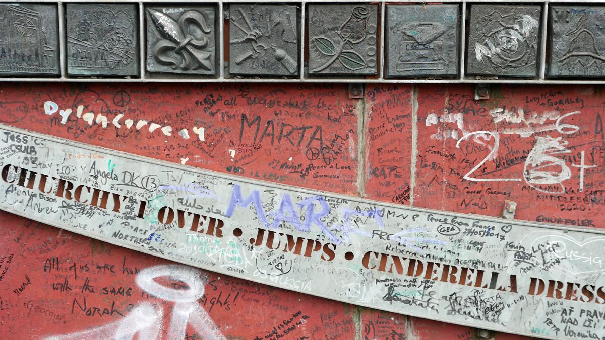 Peace Walls Belfast