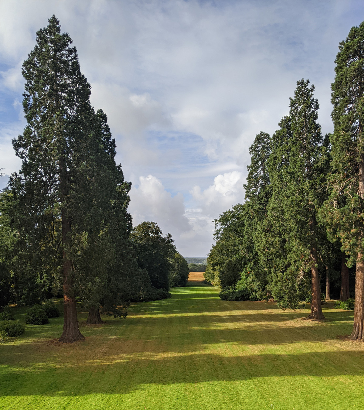 tylney hall view from room